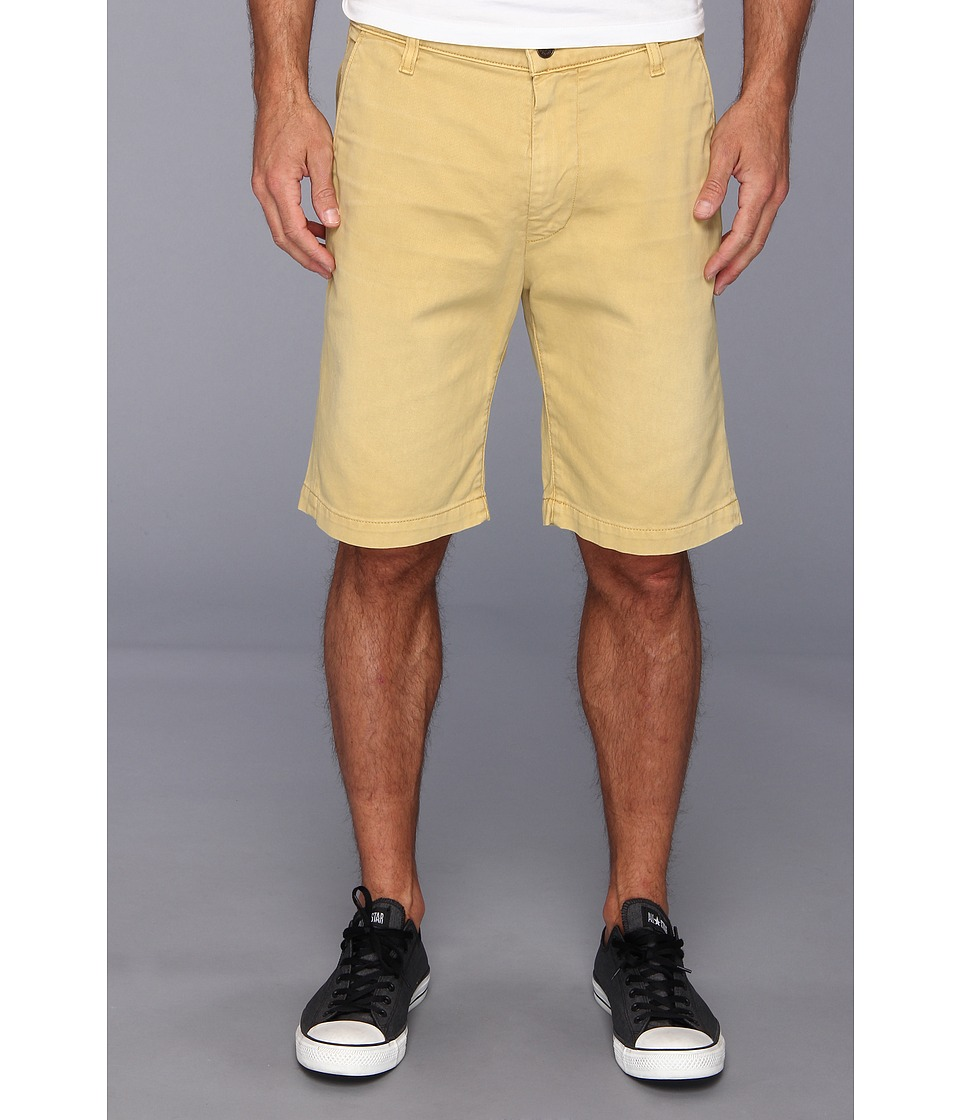 7 For All Mankind - Chino Short in Washed Out Twill (Honey) Men's Shorts