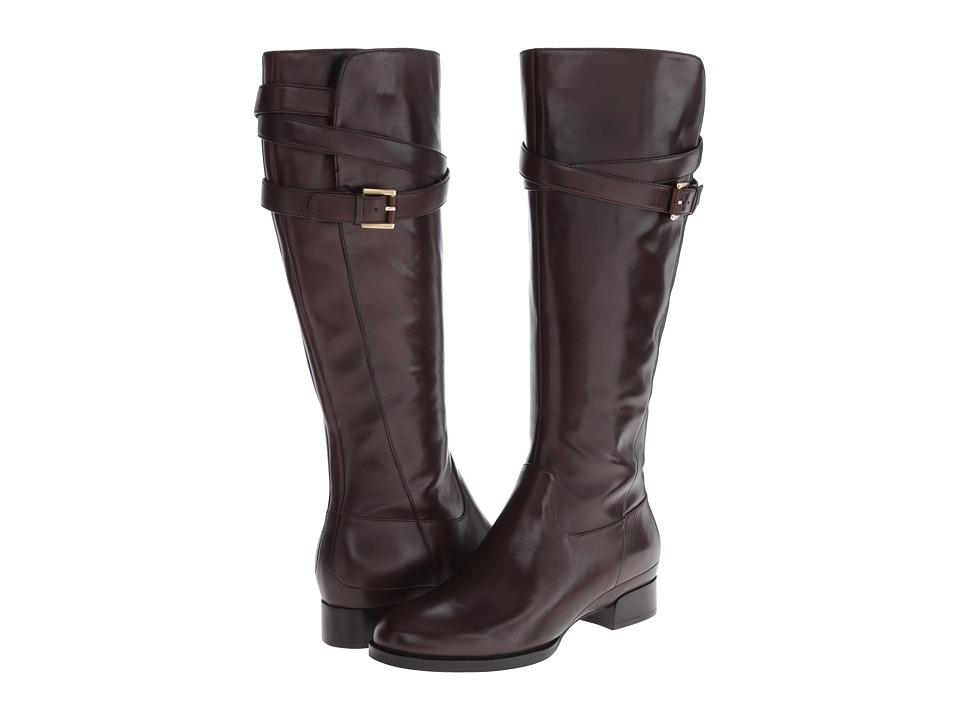ECCO Sullivan Tall Strap Boot (Espresso) Women