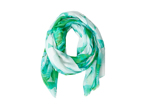Echo Design - Candy Ikat Wrap (Green) Scarves