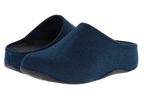FitFlop - Shuv Felt (Supernavy) Women's Clog Shoes