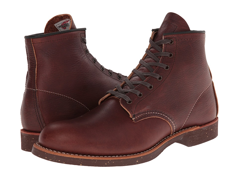 Red Wing Heritage - Blacksmith 6 Round Toe (Briar Oil Slick) Men's Lace-up Boots