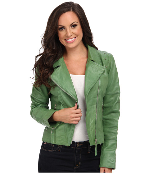Scully - Catarina Lightweight Fashion Moto Jacket (Mint) Women