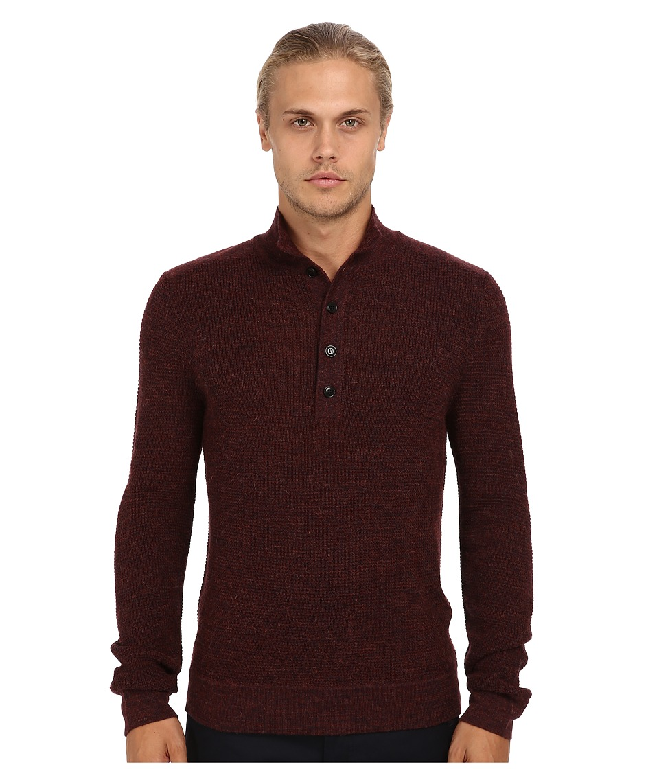 Theory - Byron WS Fiador (Dark Rouse) Men's Sweater