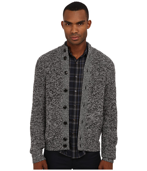 Theory - Savir HC Canon (Black Multi) Men's Sweater
