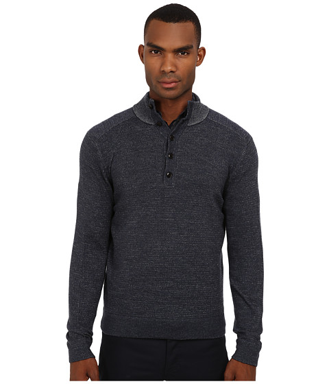 Theory - Byron JP Cashwool (Slate) Men