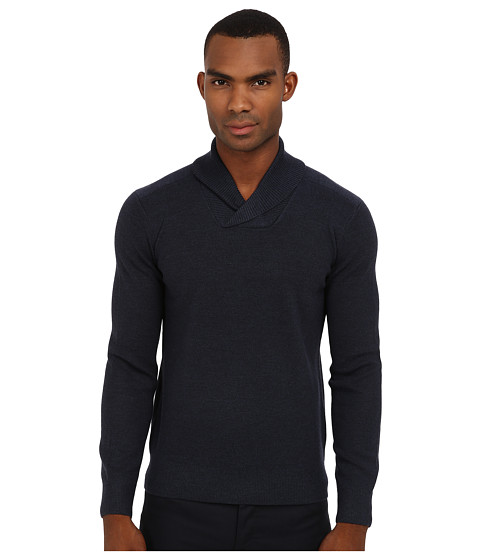Theory - Reece MS Cashwool (Slate) Men's Sweater