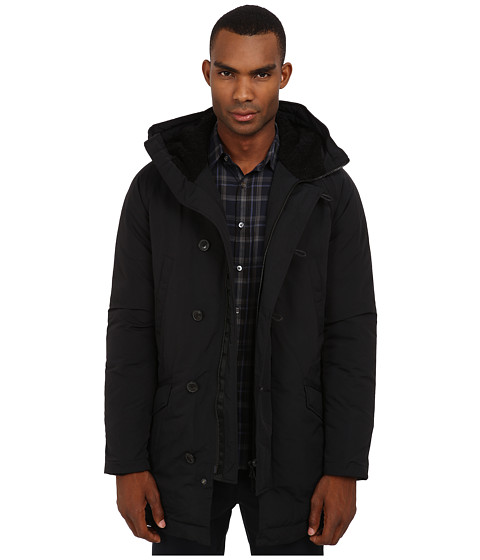 Theory - Leonaard Mercia (Black) Men's Coat