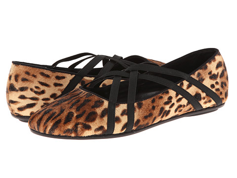 Gentle Souls - Bay Braid (Leopard) Women's Flat Shoes