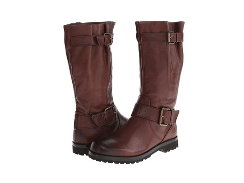 Gentle Souls - Buckled Up (Rustic Brown) Women's Dress Zip Boots