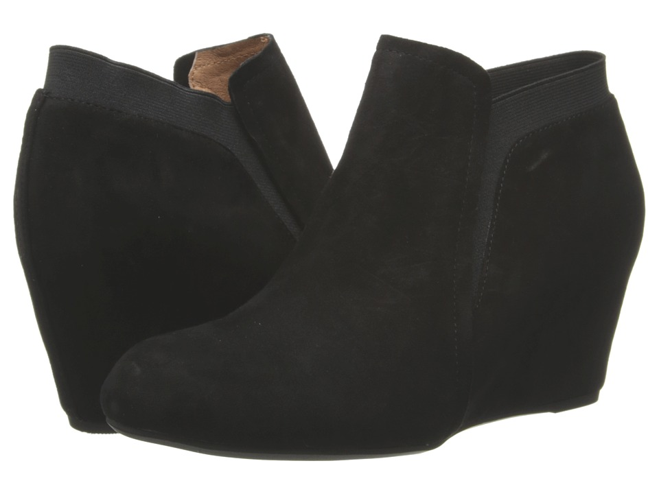 Gentle Souls - Fulham (Black) Women's Wedge Shoes