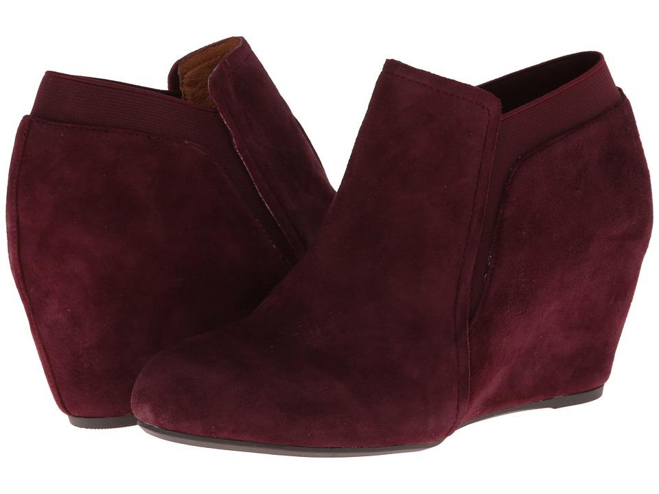 Gentle Souls - Fulham (Plum) Women's Wedge Shoes