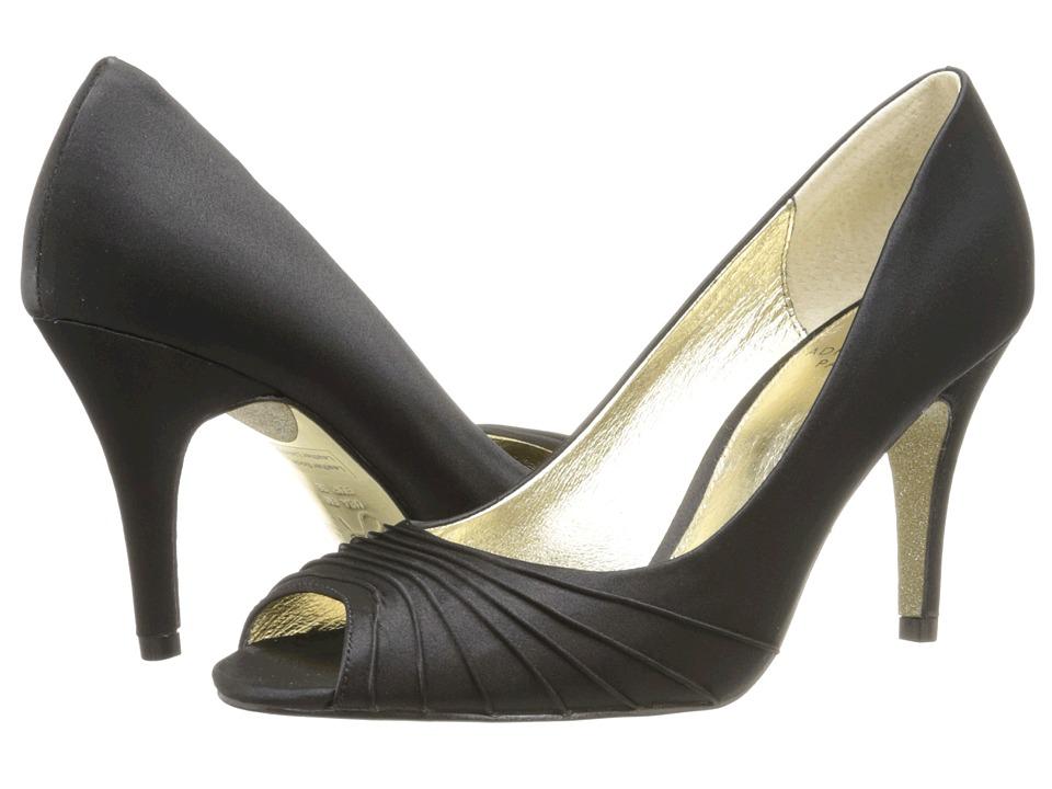 Adrianna Papell Farrel (Black Classic Satin) High Heels