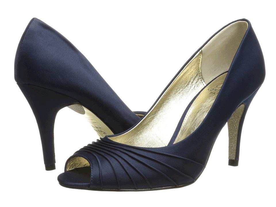Adrianna Papell Farrel (Navy Classic Satin) High Heels