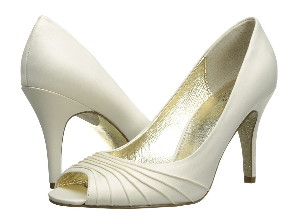 Adrianna Papell - Farrel (Ivory Classic Satin) High Heels