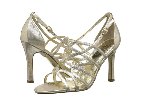 Adrianna Papell - Elda (Gold Sterling Metalic) Women's Dress Sandals