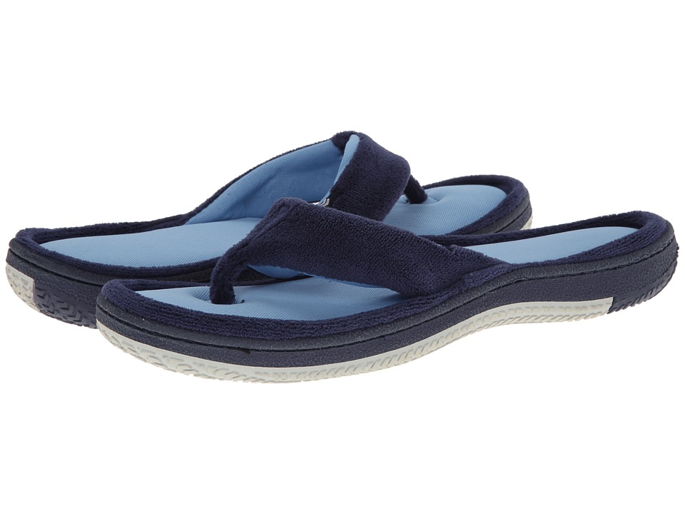 ISOTONER Signature - Jeremy (Navy/Blue) Men's Slippers