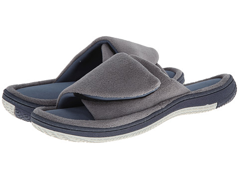 ISOTONER Signature - Julian (Charcoal/Slate) Men's Slippers