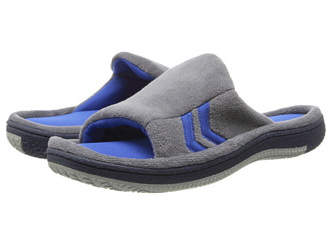 ISOTONER Signature - Jonathan (Charcoal/Slate) Men's Slippers