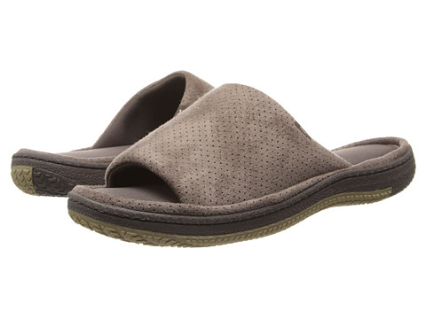 ISOTONER Signature - Geoffrey (Taupe) Men's Slippers