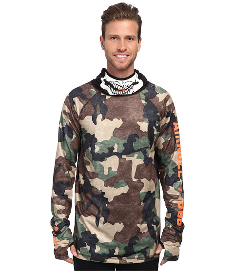 686 - Airhole Thermal Bala Top (Hunter Canvas Camo) Men's Clothing