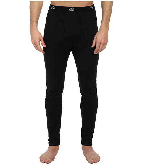 686 - Direct Base Layer Bottom (Black) Men's Casual Pants