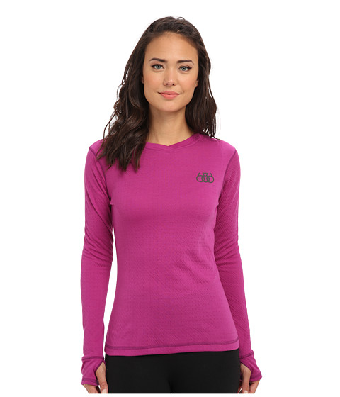 686 - Thermal Base Top (Light Orchid) Women's Long Sleeve Pullover