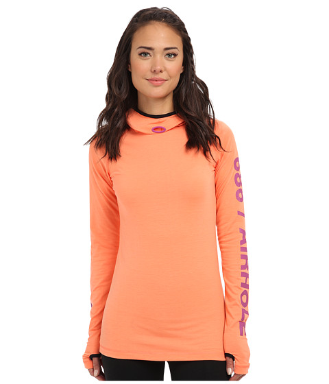 686 - Airhole Thermal Bala Top (Coral) Women's Long Sleeve Pullover