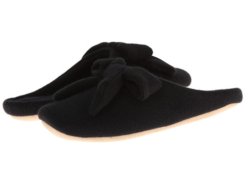 ISOTONER Signature - Cashmere Aria (Black) Women's Slippers