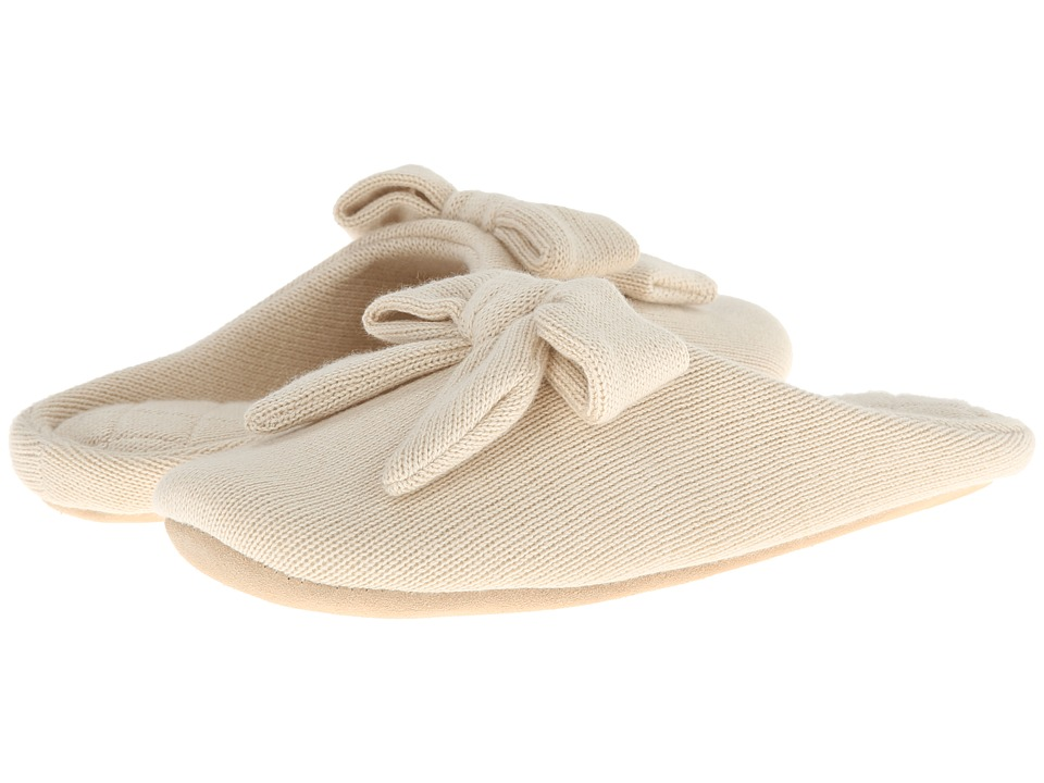 ISOTONER Signature - Cashmere Aria (Oatmeal Heather) Women's Slippers