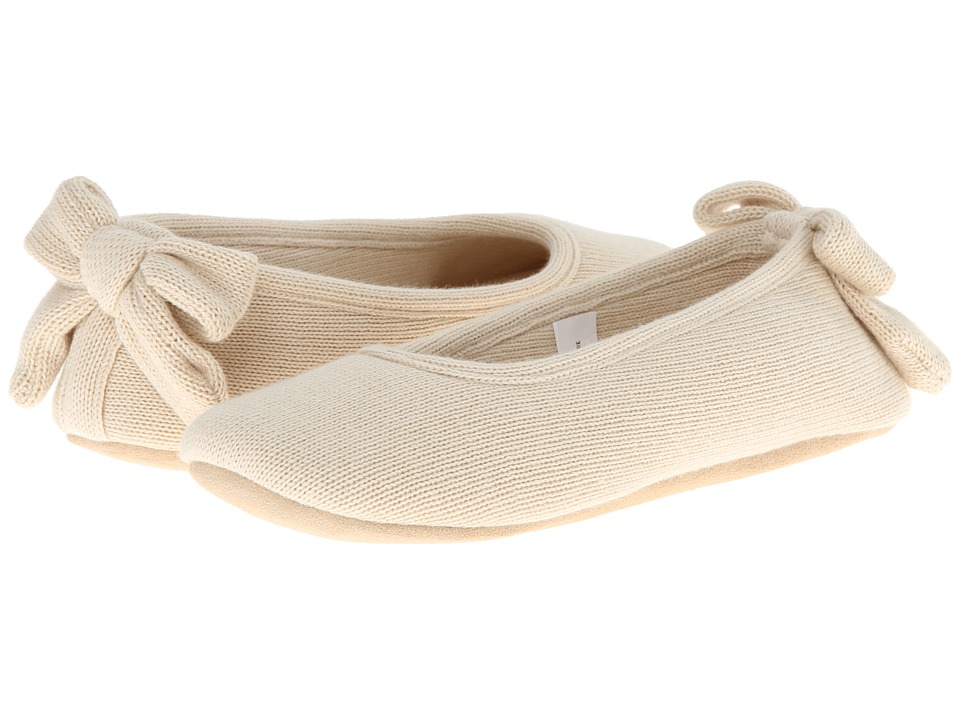 ISOTONER Signature - Cashmere Bow Ballerina (Oatmeal Heather) Women