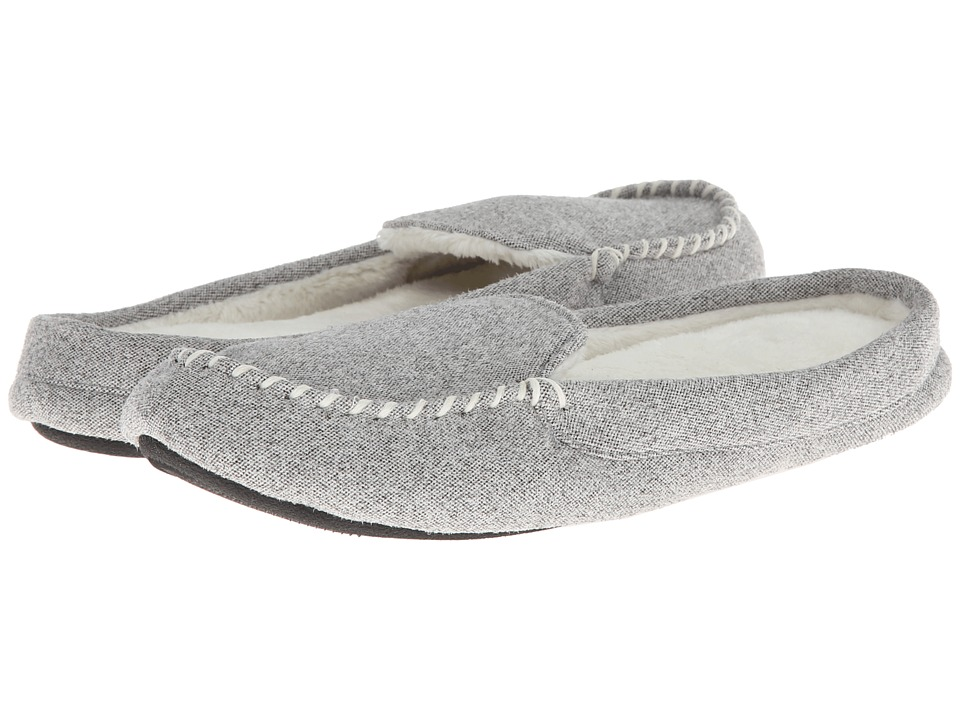 ISOTONER Signature - Ava (Heather Grey) Women's Slippers
