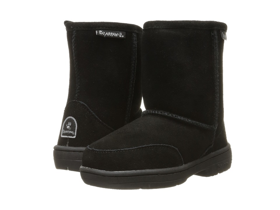 Bearpaw Kids - Meadow (Toddler) (Black II) Kids Shoes