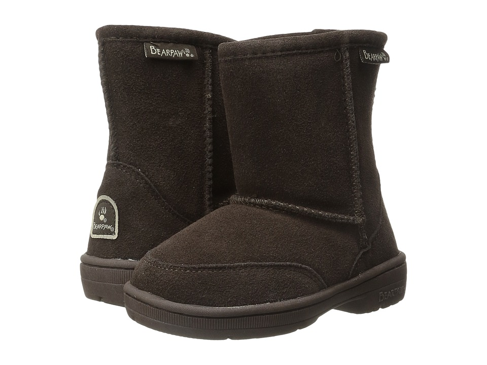 Bearpaw Kids - Meadow (Toddler) (Chocolate II) Kids Shoes