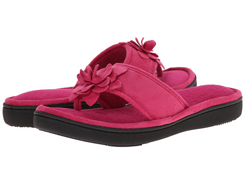 ISOTONER Signature - Evelyn (Wild Berry) Women's Slippers