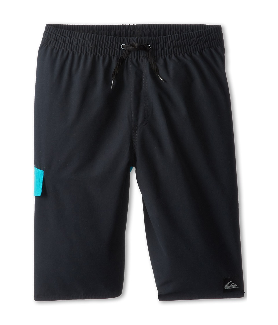 Quiksilver Kids Batter Volley Boardshort Boys Swimwear (Black)