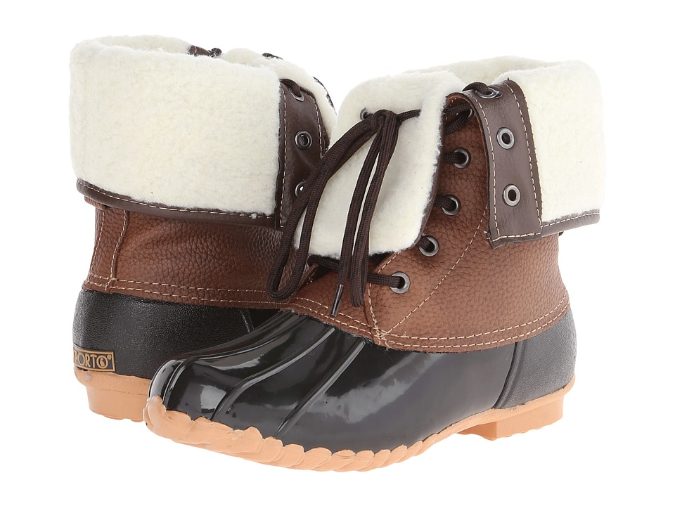 Sporto - Delilah (Black/Brown) Women's Cold Weather Boots