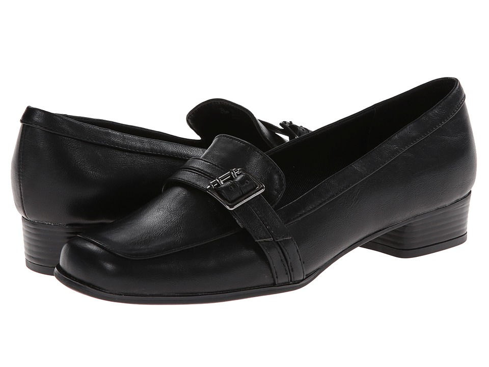 LifeStride - Ballard (Black Tlrd Calf) Women's Shoes