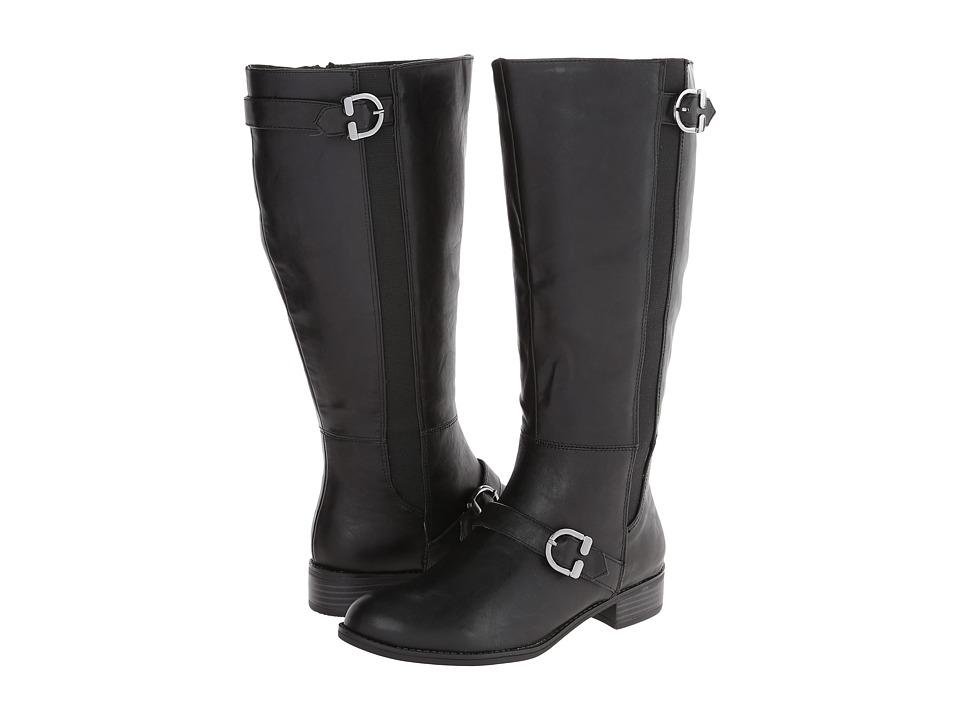 LifeStride - Selena Wide Shaft (Black Kraft Ws) Women's Shoes