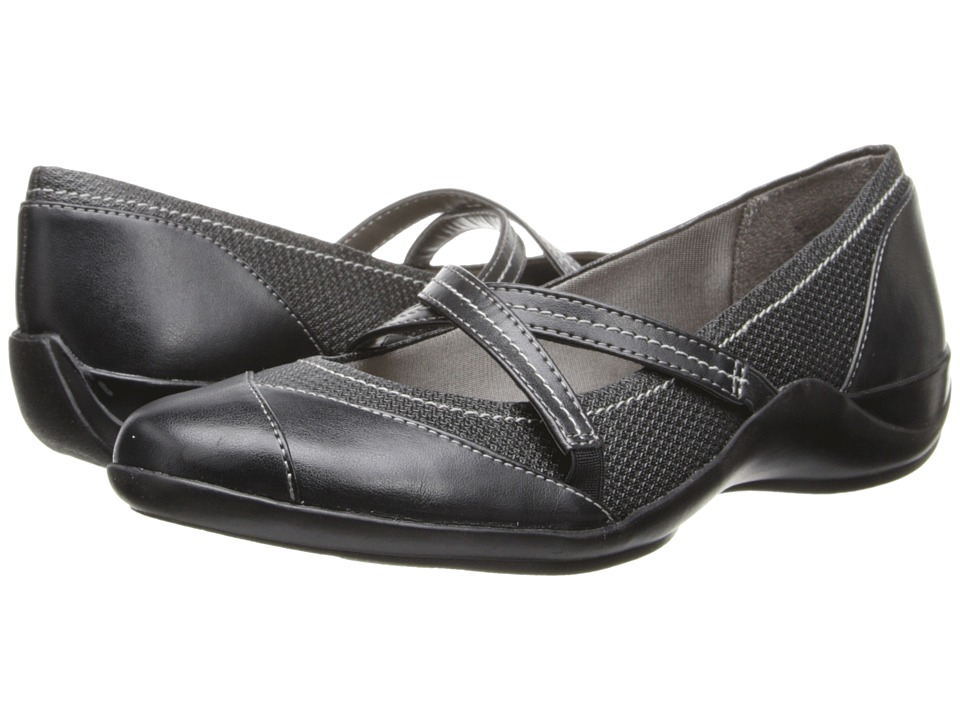 LifeStride - Macey (Black Mesh/Venus) Women's Shoes