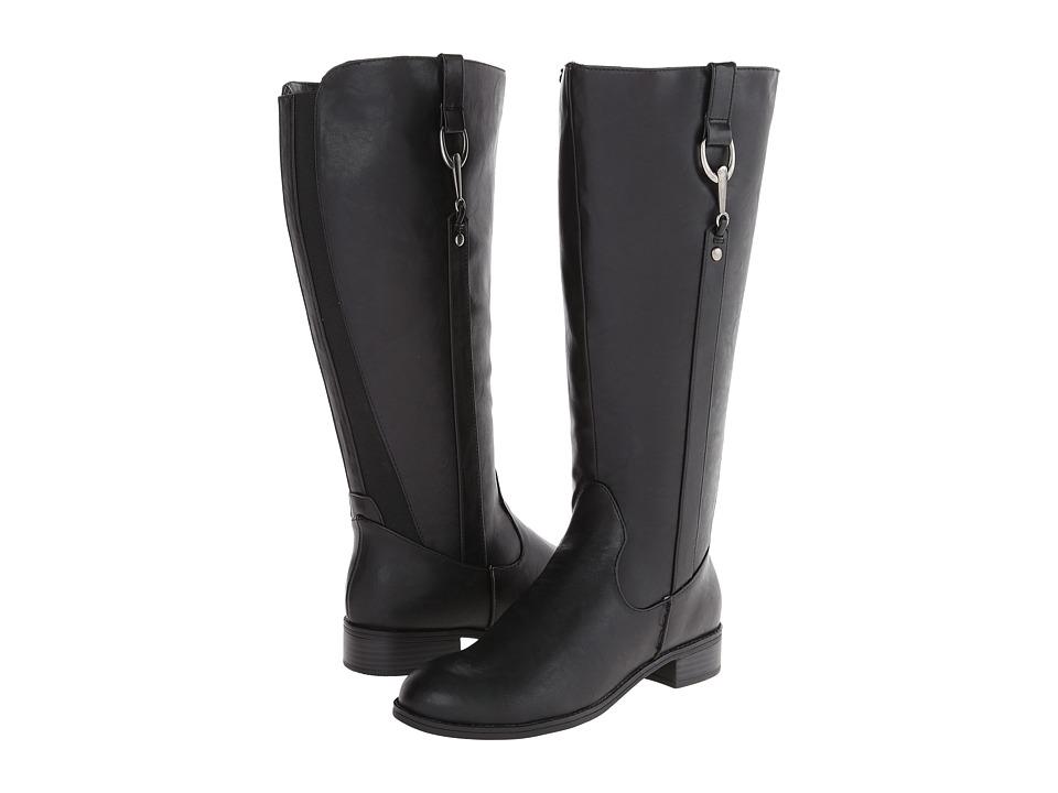 LifeStride - Sikora Wide Shaft (Black Kraft Ws) Women's Zip Boots