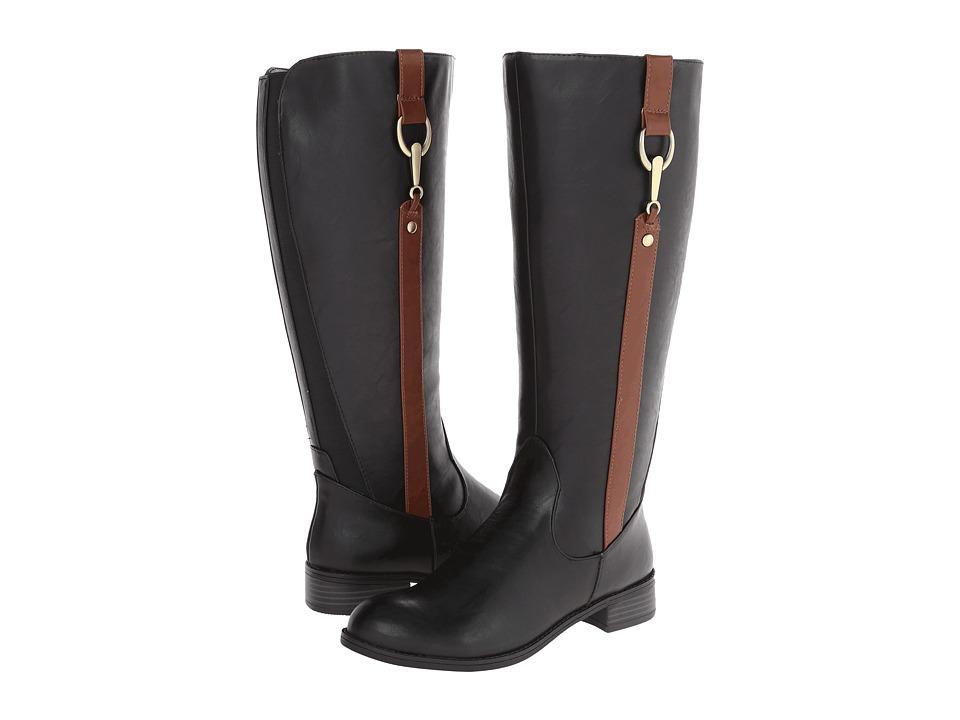 LifeStride - Sikora Wide Shaft (Black/Cdr Kraft Ws) Women's Zip Boots