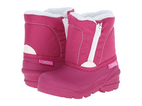 Tundra Boots Kids - Lucky 5 (Toddler) (Fuchsia) Girls Shoes