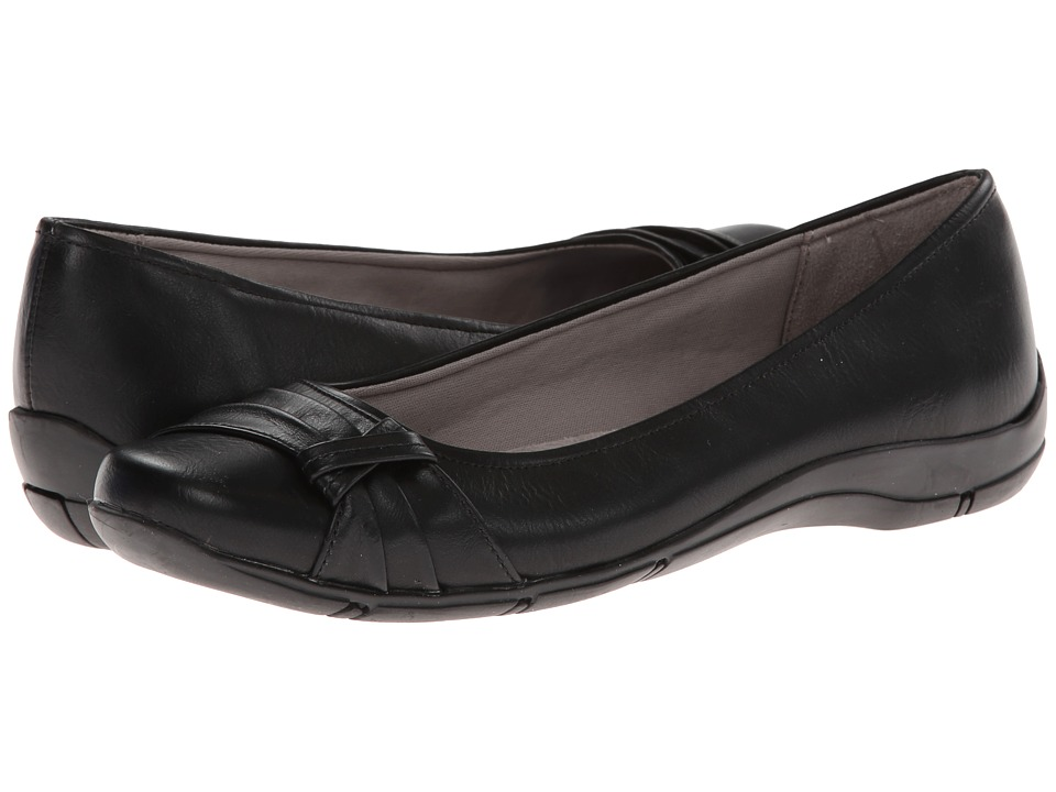 LifeStride - Darby (Black) Women's Flat Shoes