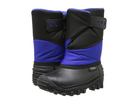 Tundra Boots Kids - Pueblo (Toddler/Little Kid) (Black/Royal) Boys Shoes