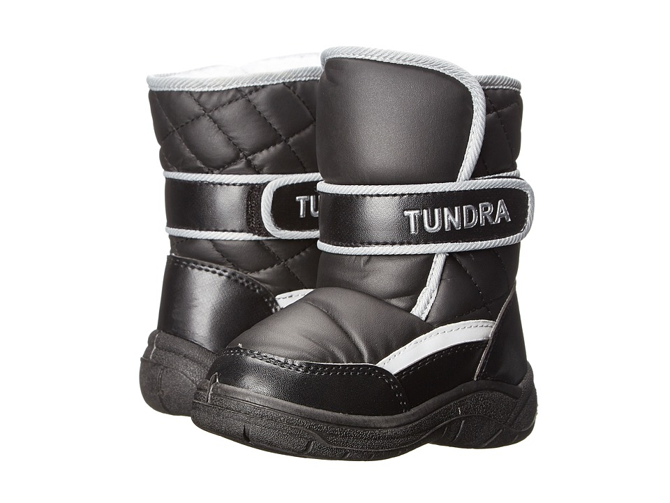 Tundra Boots Kids - Snow Kids 2 (Toddler) (Black) Boys Shoes