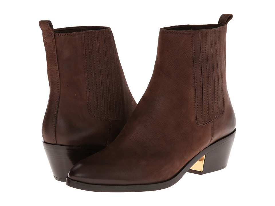 Michael Kors Patrice (Chocolate Brushed Nubuck) Women
