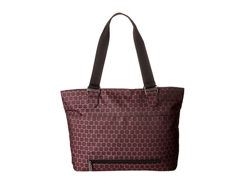 Baggallini - Dahlia Tote (Floral Jacquard Cherry Blossom) Tote Handbags