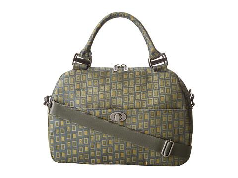 Baggallini - Lily Satchel (BG Jacquard Fern) Satchel Handbags