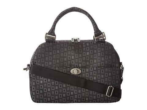 Baggallini - Lily Satchel (BG Jacquard Black) Satchel Handbags