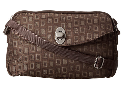 Baggallini - Tulip Mini (BG Jacquard Espresso) Cross Body Handbags